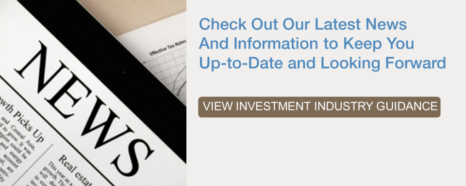 Investment industry guidance